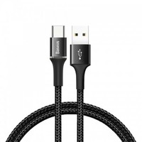 Кабель USB-Type-C Baseus Halo CATGH-B01 Black 1м 3A