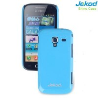 Пластиковый чехол Jekod Shine Case Blue для Samsung i8160 Galaxy Ace 2