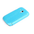 Чехол книга Rock Big City Light Blue для Samsung S7562 Galaxy S Duos(#2)