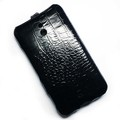 Кожаный чехол Abilita Leather Case Black Crocodile для Nokia Lumia 1320(#3)