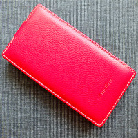 Кожаный чехол Melkco Leather Case Red LC для Nokia Lumia 720