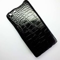 Кожаный чехол Abilita Leather Case Black Crocodile для Huawei Ascend G6(#3)