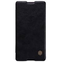 Кожаный чехол Nillkin Qin Leather Case Black для Sony Xperia M5