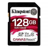 SD-карта Kingston Canvas React 128GB