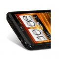 Силиконовый чехол Melkco Poly Jacket TPU Case Black для HTC One X(#3)