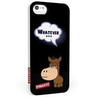 "Фотохромная накладка SleekOn Pin&Fit ""Whatever"" для Apple iPhone 5/5S/5SE"