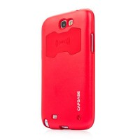 Металлический чехол Capdase Alumor Jacket Red для Samsung N7100 Galaxy Note 2