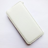 Кожаный чехол Armor Case White для Alcatel One Touch Idol X+ 6043D