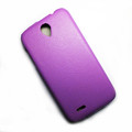 Кожаный чехол Armor Case Purple для Lenovo IdeaPhone A850(#4)