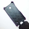Кожаный чехол Abilita Leather Case Purple Crocodile для Nokia Lumia 630(#2)