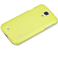 Пластиковый чехол ROCK NEW NakedShell Series Yellow для Samsung i9500 Galaxy S4