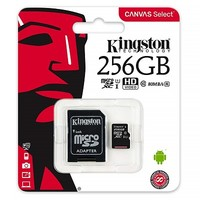 Карта памяти Kingston Canvas Select Micro SDXC UHS-1 256Gb