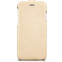 Кожаный чехол HOCO Premium Collection Gold для Apple iPhone 6/6S