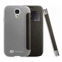 Кожаный чехол Yoobao Slim Leather Case II Black для Samsung i9500 Galaxy S4