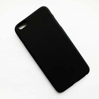 Силиконовый чехол Becolor Black Mat для Apple iPhone 6 Plus/6s Plus