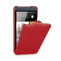 Кожаный чехол Melkco Leather Case Red LC для HTC One Dual Sim