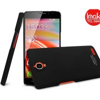 Пластиковый чехол Imak Hard Case Black для Alcatel One Touch Idol X 6040
