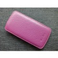 Кожаный чехол Melkco Leather Case Purple LC для HTC One S(#1)