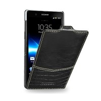 Кожаный чехол TETDED Venus Series Black Duo для Sony Xperia Z L36h