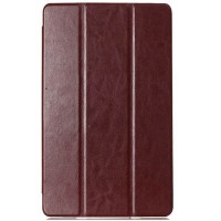 Полиуретановый чехол Book Cover Case Brown для Sony Xperia Tablet Z3 Compact