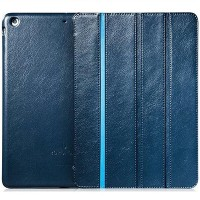 Кожаный чехол Borofone Grand Series Blue для Apple iPad Air
