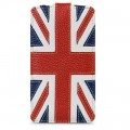 Кожаный чехол Melkco Premium Case The Nations Britain для Samsung i9500 Galaxy S4(#2)