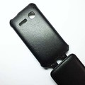 Чехол книга Armor Case Black для Alcatel One Touch SPOP 4030D(#4)