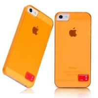 Пластиковый чехол HOCO Colorful Protective Case Orange для Apple iPhone 5/5S/5SE