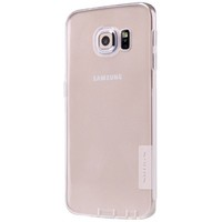 Силиконовый чехол Nillkin Nature TPU Case White для Samsung G925F Galaxy S6 Edge
