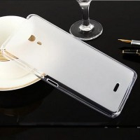Силиконовый бампер Becolor TPU Case 1mm Transparent для Alcatel POP 4 Plus 5056D