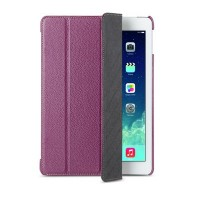 Кожаный чехол Melkco Slimme Cover Type Purple LC для Apple iPad Air