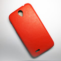 Кожаный чехол Armor Case Red для Lenovo IdeaPhone A850(#3)