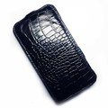 Кожаный чехол Abilita Leather Case Black Crocodile для Nokia Lumia 1320(#1)