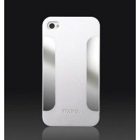 Пластиковый чехол More Para Blaze Collection White для Apple iPhone 4/4S