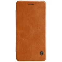 Кожаный чехол Nillkin Qin Leather Case Brown для Xiaomi Mi6