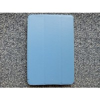Кожаный чехол Jisoncase Smart Leather Blue для Apple iPad mini