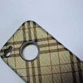 Пластиковый чехол Hardshell Case Burberry View 2 для Apple iPhone 4/4S(#2)