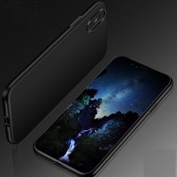 Чехол силиконовый HOCO PHANTOM SERIES PROTECTIVE Черный для Apple iPhone X/ iPhone XS