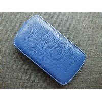 Кожаный чехол Melkco Leather Case Dark Blue LC для Samsung S7562 Galaxy S Duos