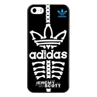 Пластиковый чехол Jeremy Scott Adidas Skeleton для Apple iPhone 5/5S/5SE