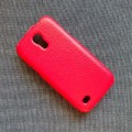 Кожаный чехол Melkco Leather Case Red LC для Samsung i9190 Galaxy S4 mini(#2)
