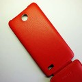 Чехол книга Armor Case Red для Lenovo A766(#4)