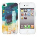Пластиковый чехол Baseus Utopia Case Bustling City для Apple iPhone 4/4S(#2)