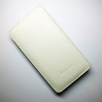 Кожаный чехол Melkco Leather Case White LC для Nokia Lumia 625