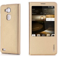 Полиуретановый чехол ROCK Touch Series Gold для Huawei Ascend Mate7