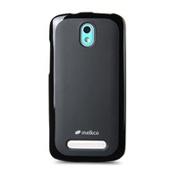 Силиконовый чехол Melkco Poly Jacket TPU Case Black для HTC Desire 500 Dual