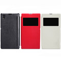 Кожаный чехол Nillkin Leather Stylish Red для Sony Xperia Z1 L39h(#4)