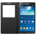 Кожаный чехол S View Cover EF-CN900BBEG для Samsung N9000 Galaxy Note 3(#2)