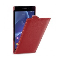 Кожаный чехол Melkco Leather Case Red LC для Sony Xperia Z2 L50t