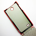 Чехол книга Armor Case Red для Lenovo A766(#2)